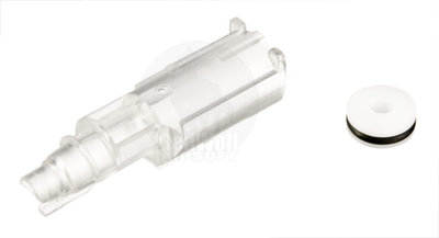 Airsoft Surgeon Super Hard Loading Nozzle for Marui Glock 17 & 26 (Transparent Ver. Limited)