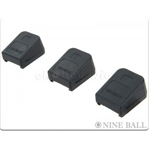 Nine Ball G18C Long Magazine Bumper for Marui Glock GBB (3pcs)
